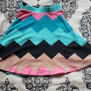 Vibrant Circle Skirt
